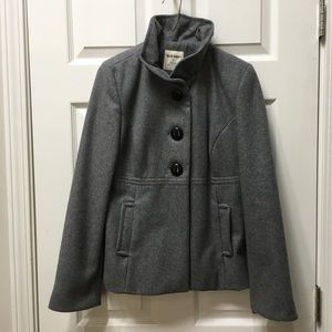 🧥Old Navy small gray wool pea coat